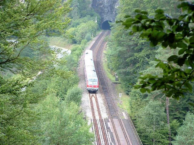 614 südlich Hufstättetunnel 2007