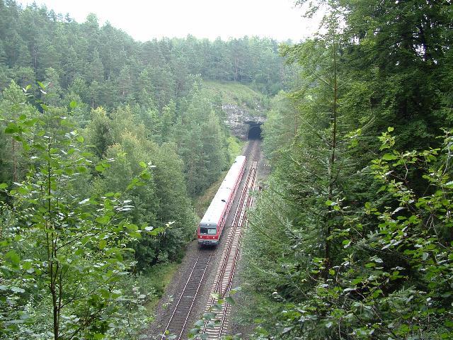 614 nördlich Hufstätte-Tunnel 2007