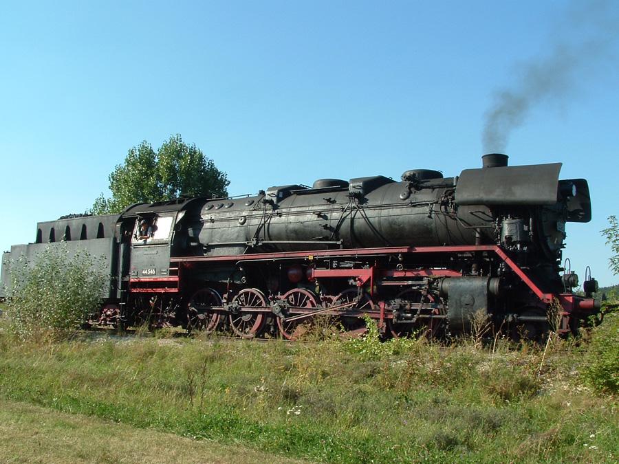 Plandampf-Güterzug Rettenmeier August 2016
