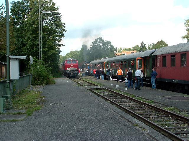 Einfahrt des Rheingold am 18.09.2010