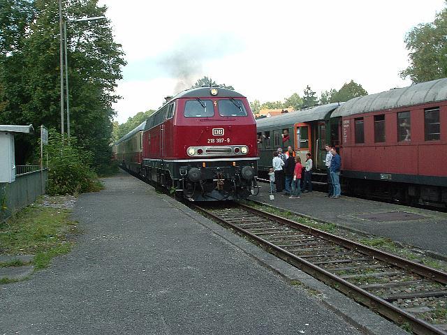 Einfahrt in Dinkelsbühl - 18.09.2010