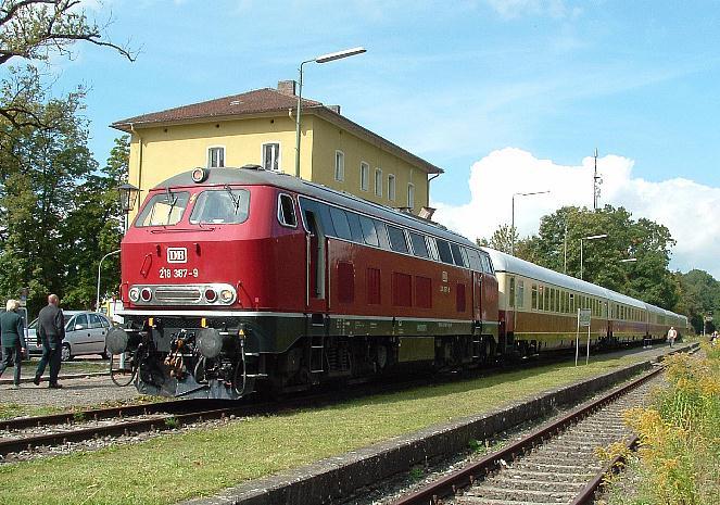 Abgestellter Rheingold am 18.09.2010