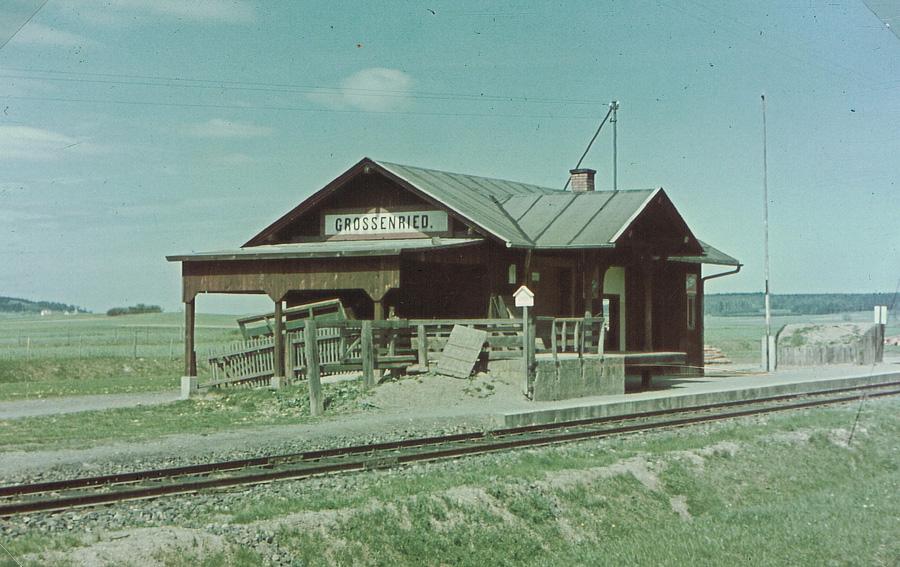 Bahnhof Grossenried 1948