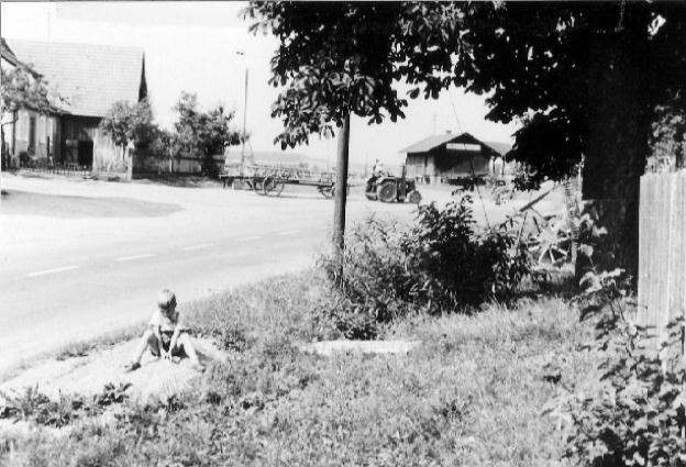 Straße in Kleinried