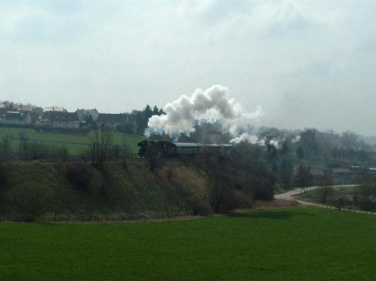41 1150 und S 3/6 in Schopfloch