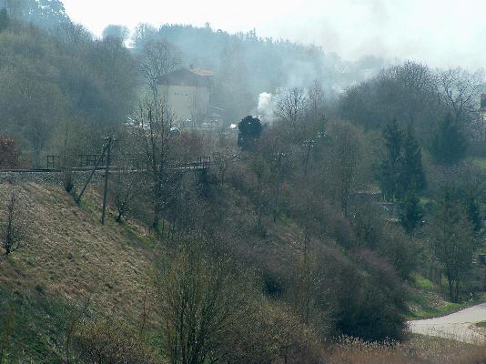 41 1150 als Zuglok in Schopfloch