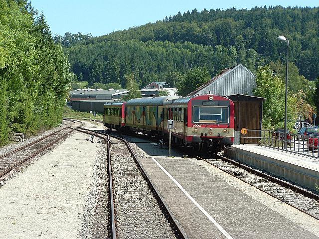 Radwanderzug in Zollhaus-Blumberg 15.08.09