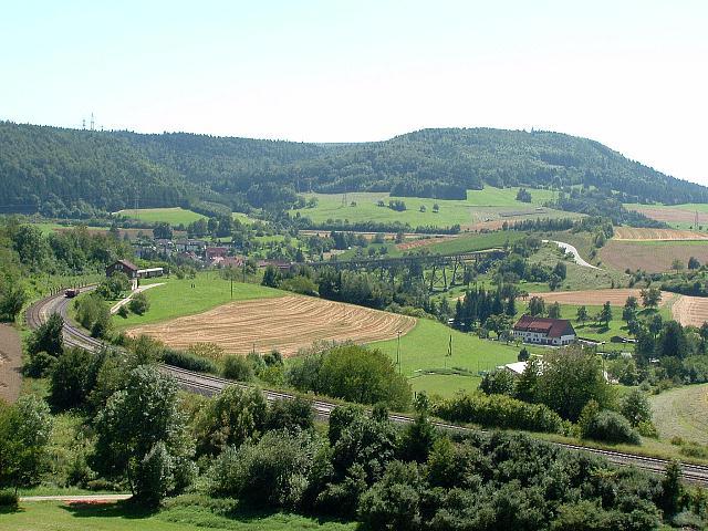 Blick auf Epfenhofen 15.08.09