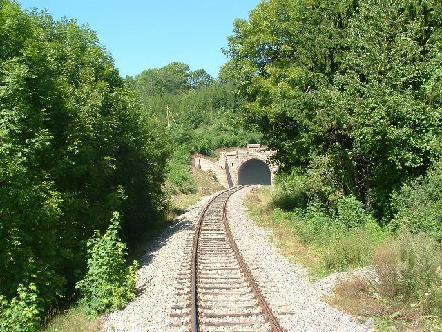 Südliches Portal des Tunnels Achdorfer Weg 15.08.09