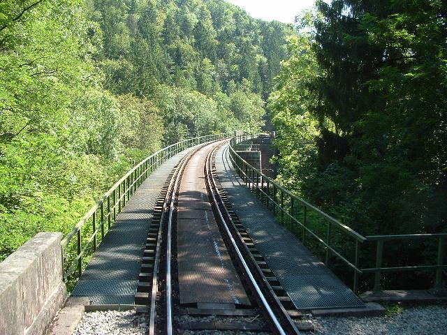 Brücke über die Wutachschlucht 15.08.09