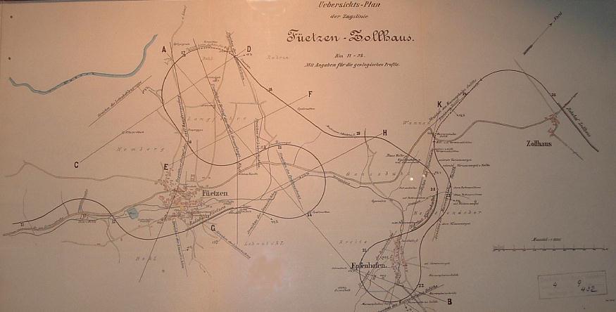 Übersichtsplan Zollhaus bis Fützen 15.08.09