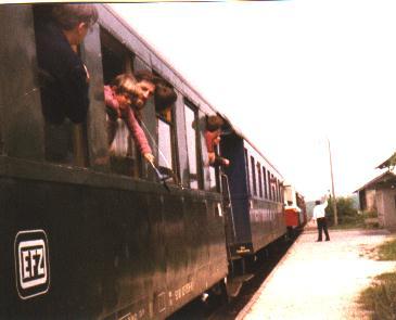 Rückfahrt am 18.5.1985 Schopfloch
