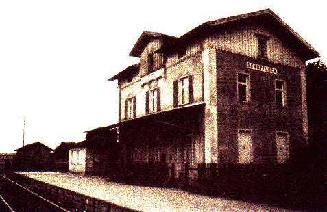 Bahnhof Schopfloch 1985