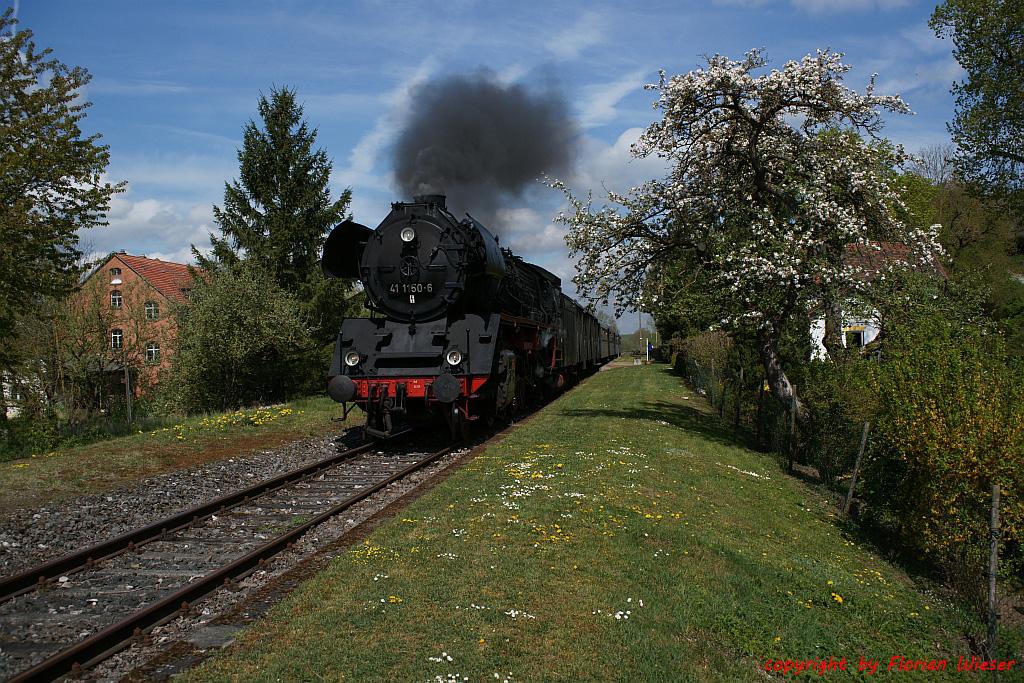 41 1150 in Schopfloch Ostern 2014
