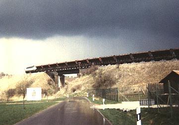 Schotterzug 1987