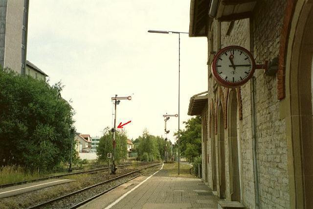 Signalanlage Schrozberg
