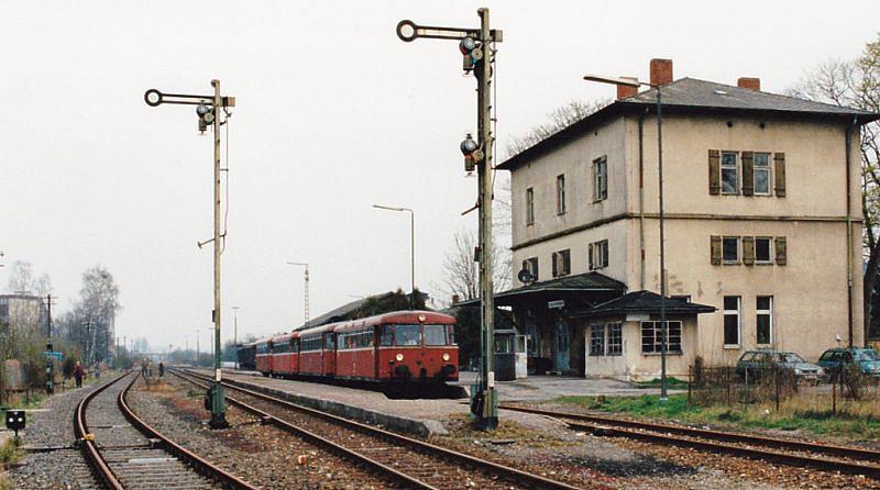 Schienenbus-Sonderzug 16.4.94