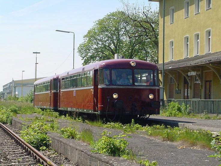 Abfahrt in Dinkelsbühl 10.6.2006