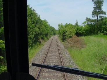 Strecke bei der Ungarndeutschen Siedlung 10.6.06