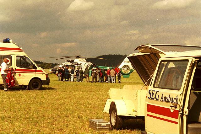Eurocopter - Übung Dombühl 2002