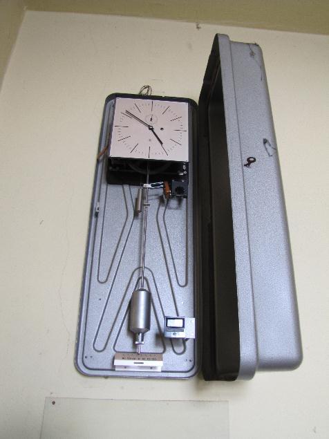 Uhrensystem - Abbau 8.12.2012