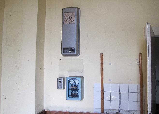 Abbau Uhrensystem 8.12.2012