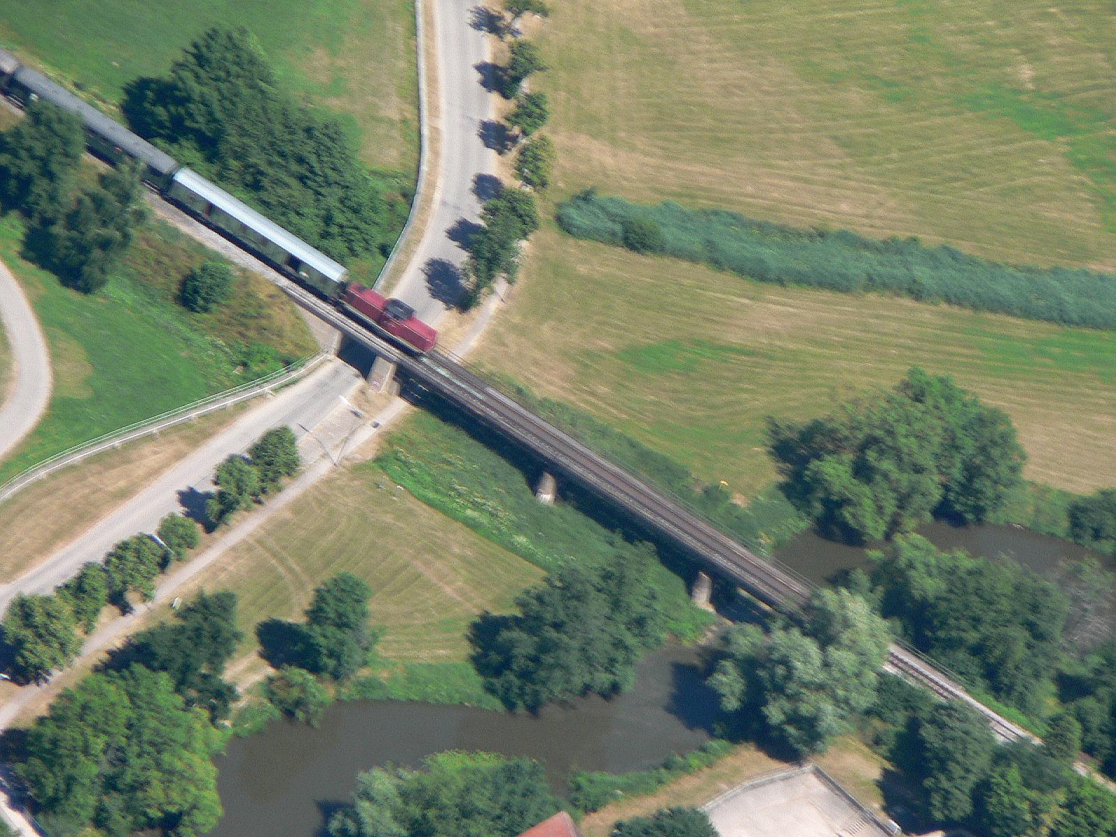Wörnitzbrücke Wilburgstetten am 21.7.2013