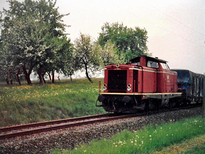 V 100 bei Deuenbach 1988