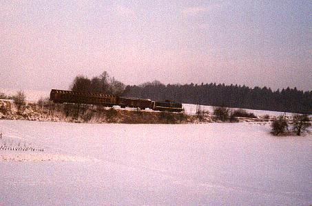 290er bei Deuenbach in Richtung Feuchtwangen