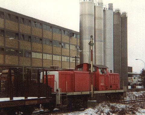 290 404-3 rangiert 1995/96 in Feuchtwangen