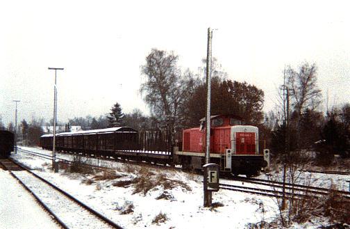 Üg mit 290er im Winter 1995/96