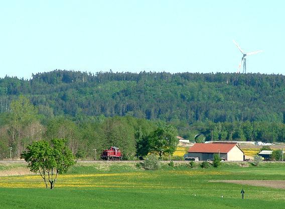 V60 860 bei Bortenberg - 12.5.08