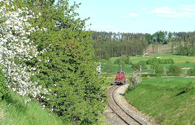 V60 860 Einfahrt in Dombühl - 12.5.08