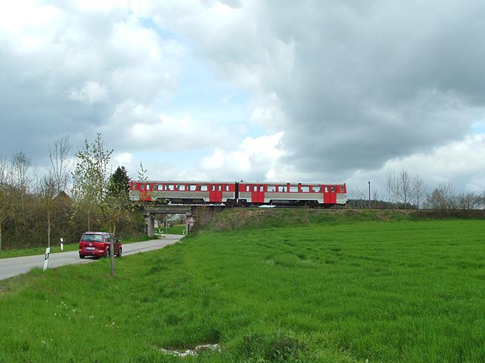 24.April 2016 Brücke bei Kaltenbronn