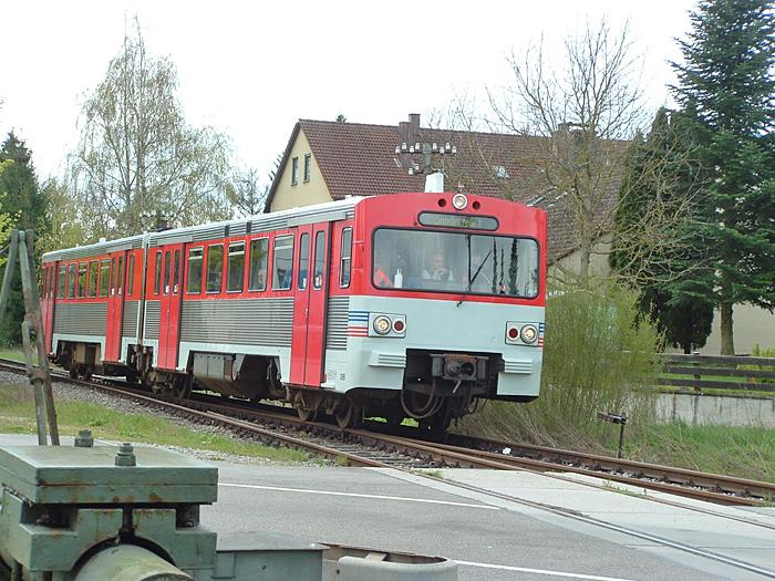 24.April 2016 Einfahrt in Feuchtwangen
