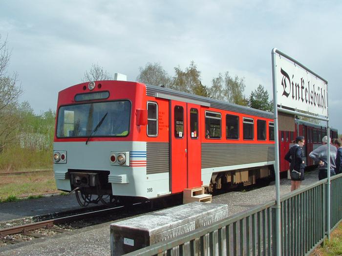 24.April 2016 Nachmittagszug in Dinkelsbühl