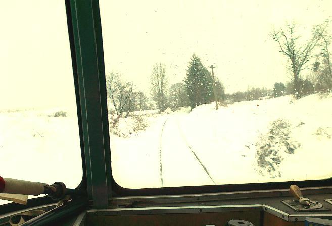 Vt 98 bei BÜ 41,6 am 19.12.2010