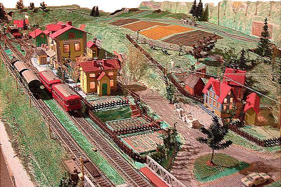Bahnhof mit Bahnofsrestauration Schopfloch