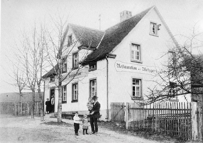 Bahnhofsrestauration Schopfloch