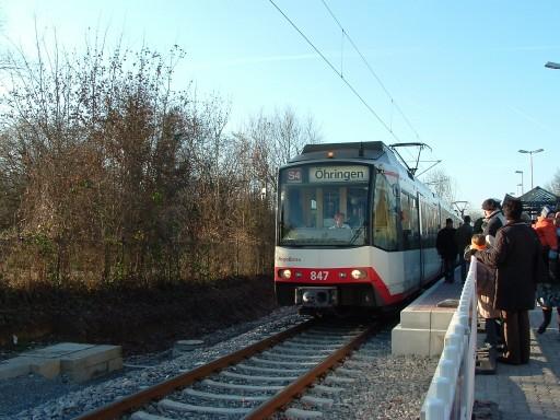 Stadtbahn Weinsberg 11.12.05