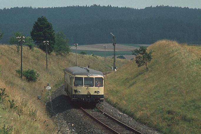 Einfahrt Dombühl 1984