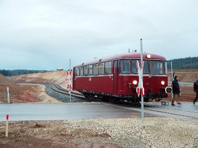 VT 98 Eröffnungsfahrt