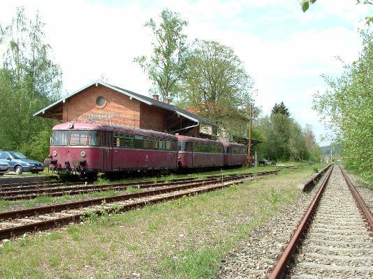VT 98 in Wilburgstetten - Mai 2004